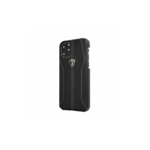 TPU-Abdeckung Lamborghini Originálny zadný kryt auf Apple iPhone XR Schwarz