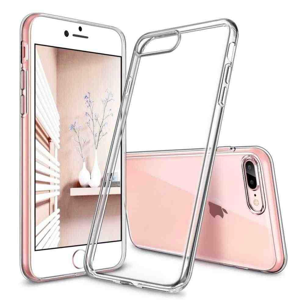 TPU cover ESR Essential Zero for Apple iPhone 8 Plus Transparent
